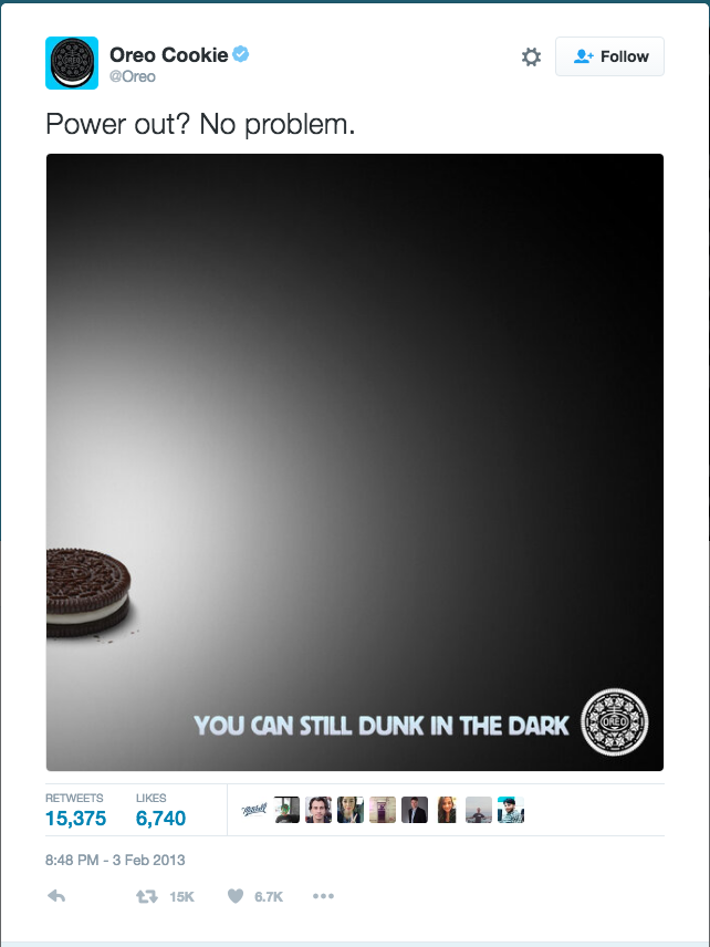 Oreo Dunk in Dark Tweet
