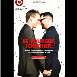 "A 2012 Target advertisement for the company's ""That's Love"" Campaign."