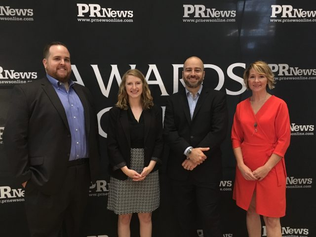 Honored to be recognized as finalists for the PR News Agency Team of the Year and Small PR Firm of the Year awards.